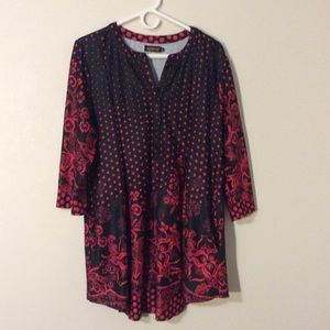 Reborn Tunic Top With Pockets Size XL